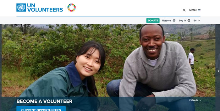Comece um voluntariado