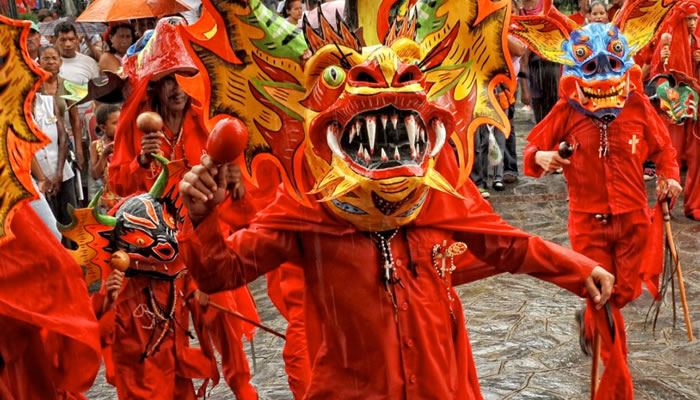 Dança do Diabo em San Francisco de Yare