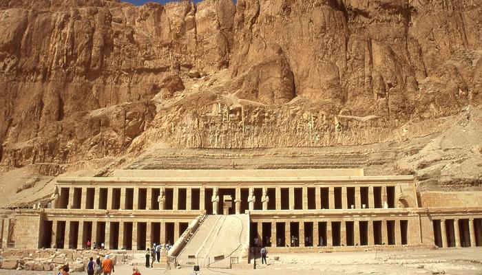 Templo de Deir al-Bahri (Templo da Rainha Hatshepsut)